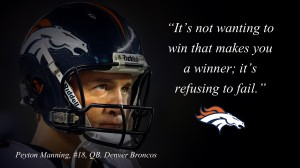 A quote by Peyton.